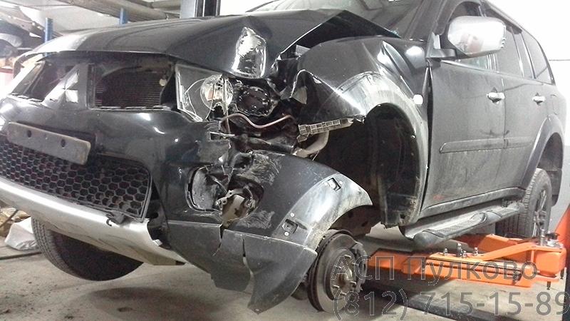 Кузовной ремонт Mitsubishi L200