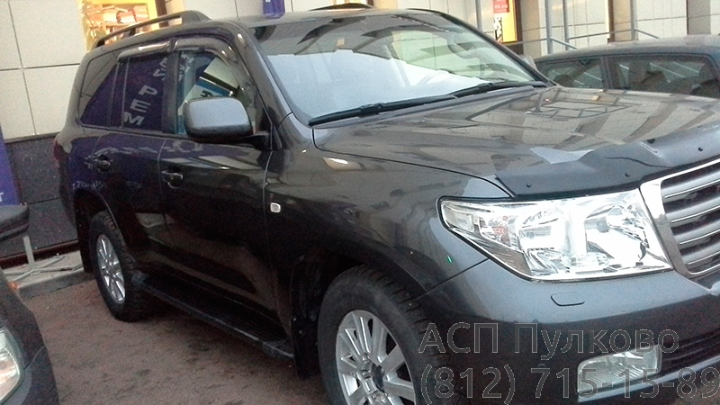 Покраска Toyota Land Crusier 200