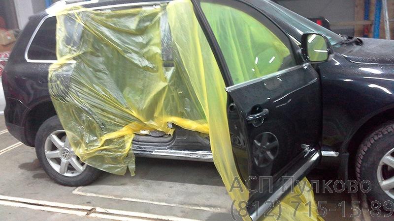 Частичный ремонт порогов автомобиля