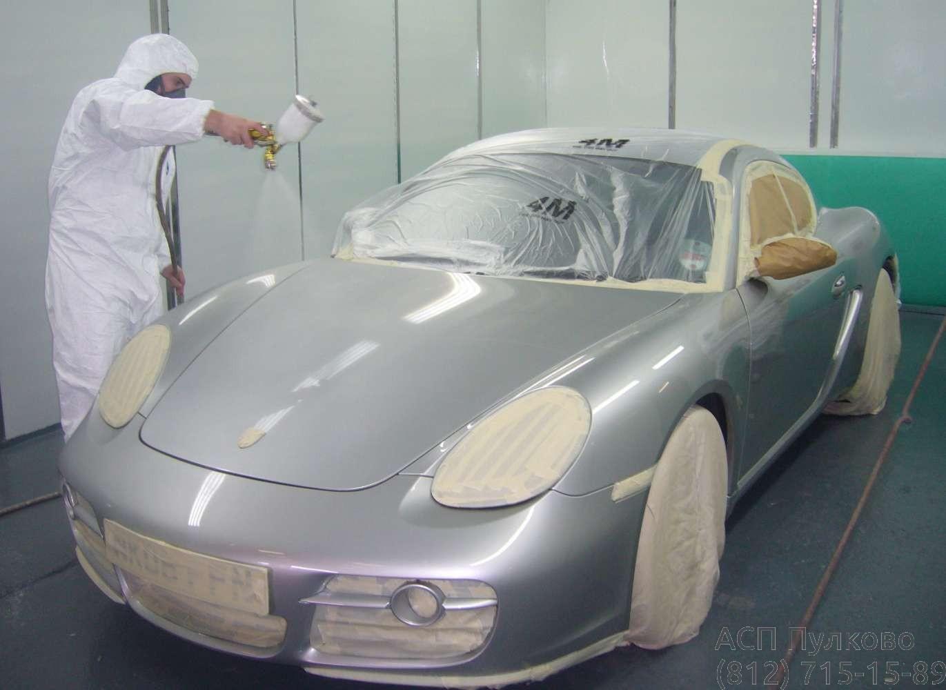 Покраска авто в СПб
