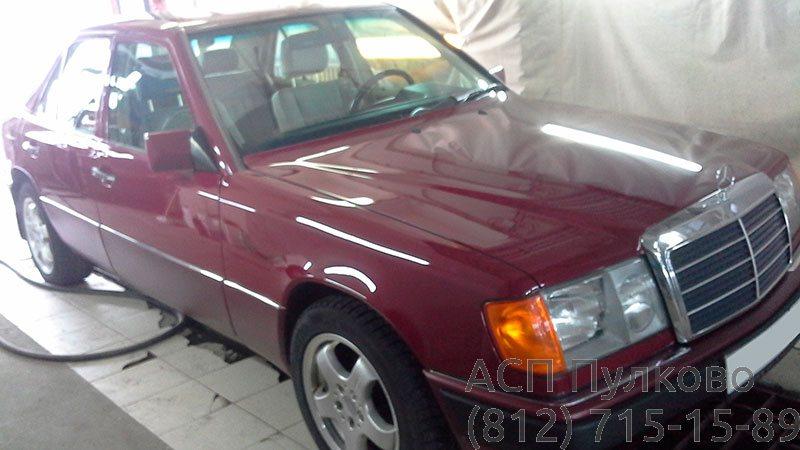 Покраска целиком Mercedes 124