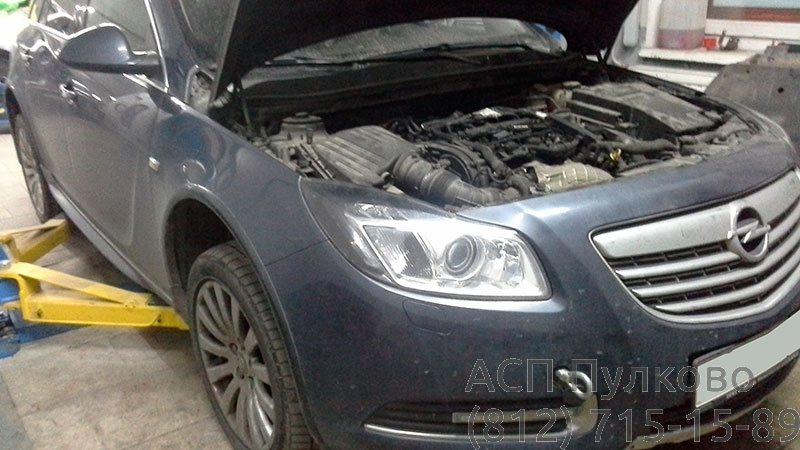 Капитальный ремонт Opel Insigni
